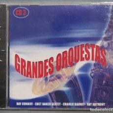 CDs de Música: CD. GRANDES ORQUESTAS. 3. PRECINTADO. Lote 221671183