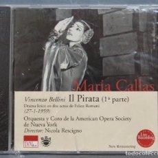 CDs de Música: CD. MARIA CALLAS. VINCENZO BELLINI. IL PIRATA. 1ª PARTE. PRECINTADO. Lote 221671232