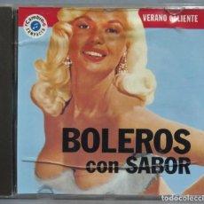 CDs de Música: CD. BOLEROS CON SABOR. Lote 221671283