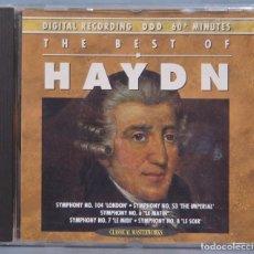 CDs de Música: CD. THE BEST OF HAYDN. Lote 221671308