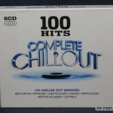 CDs de Música: VARIOS - 100 HITS COMPLETE CHILLOUT - 5 CD. Lote 221701201