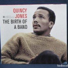 CDs de Música: QUINCY JONES - THE BIRTH OF A BAND - CD. Lote 221702893
