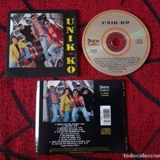 CDs de Música: UNIK KO CD ORIGINAL 1993 POP LATINNO. Lote 221703093
