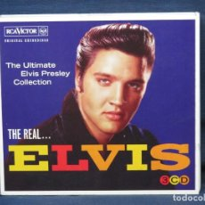 CDs de Música: ELVIS PRESLEY - THE REAL... ELVIS - THE ULTIMATE ELVIS PRESLEY COLLECTION - 3 CD. Lote 221703127