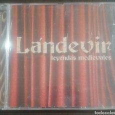 CDs de Música: LÁNDEVIR - LEYENDAS MEDIEVALES. Lote 221703228