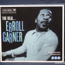 CDs de Música: ERROLLGARNER - THE REAL ERROLL GARNER - 3 CD. Lote 221703270