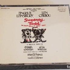 CDs de Música: SWEENEY TODD / ORIGINAL CAST / A MUSICAL THRILLER / BOX-DOBLE CD-BMG MUSIC / LEVES MARCAS.. Lote 221704983