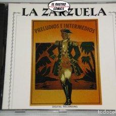 CDs de Música: LA ZARZUELA, PRELUDIOS E INTERMEDIOS, CD, DIAPASON. Lote 221707305