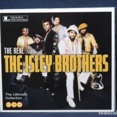 CDs de Música: THE ISLEY BROTHERS - THE REAL ISLEY BROTHERS - THE ULTIMATE COLLECTION - 3 CD. Lote 221710576