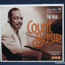 CDs de Música: COUNT BASIE - THE REAL... COUNT BASIE - THE ULTIMATE COLLECTION - 3 CD. Lote 221710802