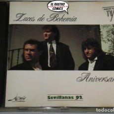 CDs de Música: LUCES DE BOHEMIA, ANIVERSARIO, SEVILLANAS 92, CD 1991. Lote 221713065
