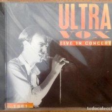 CDs de Música: ULTRAVOX : BBC RADIO 1 LIVE IN CONCERT [UK 1992] CD. Lote 221713253