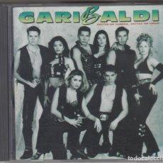 CDs de Música: GARIBALDI CD GRITOS DE GUERRA, GRITOS DE AMOR 1993 SPAIN. Lote 288358553