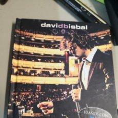 CDs de Música: DAVID BISBAL - 10 AÑOS CON TVE UNA NOCHE EN EL TEATRO REAL - 2 CD / DVD. Lote 221727510
