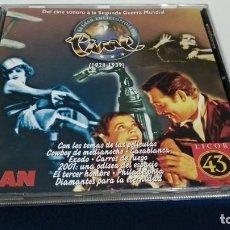 CDs de Música: CD - LA GRAN ENCICLOPEDIA DEL CINE 1928/1939 - PROMO MAN - LICOR 43 - 1998 GRUPO Z. Lote 221728245