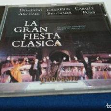 CDs de Música: CD - LA GRAN FIESTA CLASICA - CEREMONIA INAUGURAL JUEGOS DE BARCELONA - 1992 ARIOLA CODORNIU NUEVO. Lote 221733445