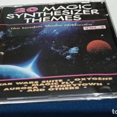 CDs de Música: CD - 20 MAGIC SYNTHESIZER THEMES - THE LONDON STUDIO ORCHESTRA VOL 2 ) 1990 LASER - STAR WARS SUITE. Lote 221733506