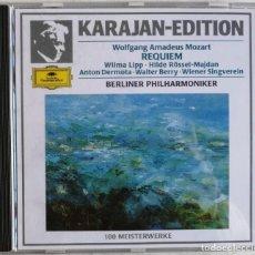 CDs de Música: MOZART-BERLINER PHILHARMONIKER HERBERT VON KARAJAN-REQUIEM. Lote 221742500