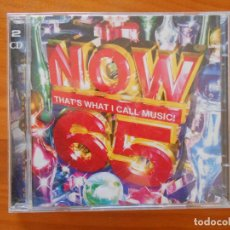 CDs de Música: CD NOW 65 - THAT'S WHAT I CALL MUSIC! (2 CD'S) (X3). Lote 221742812