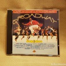 CDs de Música: LA MEJOR MUSICA DE BROADWAY 2. Lote 221745566