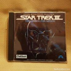 CDs de Música: STAR TREK III THE SEARCH FOR SPOCK - ORIGINAL MOTION PICTURA SOUNDTRACK. Lote 221746148