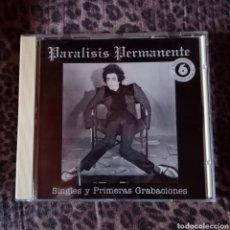 CDs de Música: PARALISIS PERMANENTE. Lote 162600976