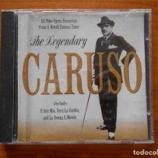 CDs de Música: CD THE LEGENDARY ENRICO CARUSO (Z3). Lote 221752897