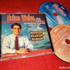 CDs de Música: BRIAN WEISS EN ESPAÑOL MEDITACION RELAJACION REGRESION 2CD 2001 ARGENTINA. Lote 221755312