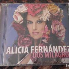 CDs de Música: ALICIA FERNÁNDEZ. DOS MILAGROS. NUEVO PRECINTADO. DANI. Lote 221770430
