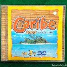 CDs de Música: CARIBE 2002 / CD 3 Y DVD RF-8072. Lote 221772703