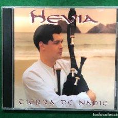 CDs de Música: HEVIA - TIERRA DE NADIE / CD DE 1998 RF-8077. Lote 221775708