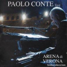"CDs de Música: DOBLE CD "" LIVE ARENA DI VERONA"" - PAOLO CONTE -EDIC. ORIGINAL ITALY 2005.. Lote 221781532"
