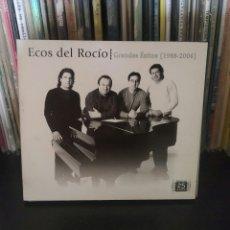 CDs de Música: ECOS DEL ROCIO CD DOBLE GRANDES EXITOS 1988-2006 DIGIPACK APERTURA TRIPLE MUY BUEN ESTADO RARO. Lote 221802765