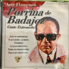 CDs de Música: PORRINA DE BADAJOZ - CANTE EXTREMEÑO. Lote 221807591