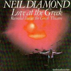 CDs de Música: NEIL DIAMOND - LOVE AT THE GREEK - CD ALBUM - 15 TRACKS - CBS 1977. Lote 221824863