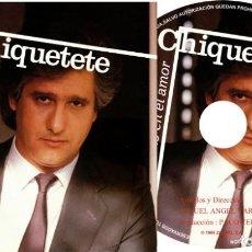 CD di Musica: CHIQUETETE. Lote 221826938