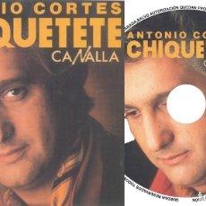 CD di Musica: CHIQUETETE. Lote 221827110