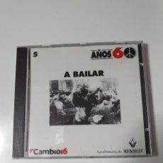 CDs de Música: CD, COLECCIÓN AÑOS 60, 5, A BAILAR,. Lote 221830070