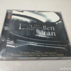 CDs de Musique: BEN SIDRAN - LIVE AT THE CELEBRITY LOUNGE. Lote 221837282