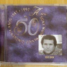 CDs de Música: LEO DAN (50 AÑOS 1947 - 1997) CD 1996 MEXICO. Lote 221839315