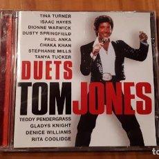 CDs de Música: TOM JONES - DUETS - 1998 - COMPRA MÍNIMA 3 EUROS. Lote 221840121