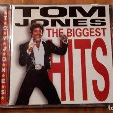 CDs de Música: TOM JONES - THE BIGGEST HITS - 1998 - COMPRA MÍNIMA 3 EUROS. Lote 221840187