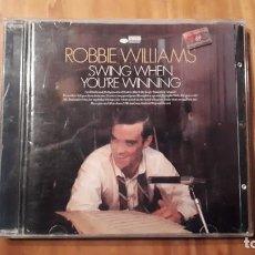 CDs de Música: ROBBIE WILLIAMS - SWIM WHEN YOU´RE WINNING - 2001 - COMPRA MÍNIMA 3 EUROS. Lote 221841118