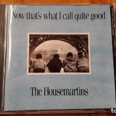 CDs de Música: THE HOUSEMARTINS - NOW THAT´S I CALL QUITE GOOD - 1987 - COMPRA MÍNIMA 3 EUROS. Lote 221841743