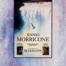 CDs de Música: ENNIO MORRICONE – THE MISSION (ORIGINAL SOUNDTRACK FROM THE FILM). Lote 221844855