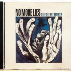 CDs de Música: NO MORE LIES - SEEDS OF ENTHUSIASM CD 1998 BCORE. Lote 221864200