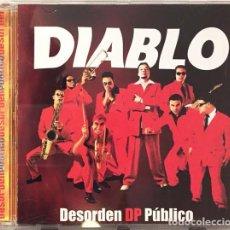 CDs de Música: DESORDEN PÚBLICO -DIABLO CD 2002 SKA REGGAE. Lote 221866367