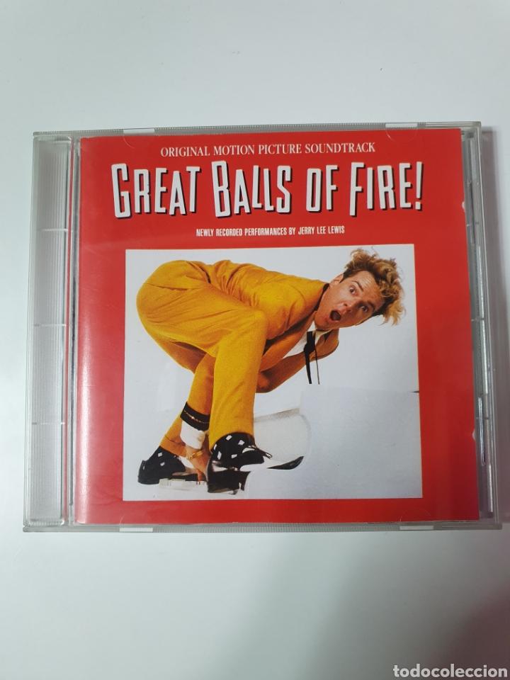 CD DE GREAT BALLS OF FIRE, (GRAN BOLA DE FUEGO), BANDA SONORA ORIGINAL DE LA PELÍCULA. (Música - CD's Bandas Sonoras)