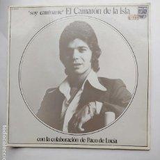 CDs de Música: EL CAMARON DE LA ISLA. SOY CAMINANTE, CON LA COLABORACION DE PACO DE LUCIA. LP. TDKDA77. Lote 221868101