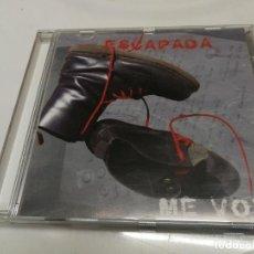 CDs de Música: PRIMER CD GRUPO ROCK ESCAPADA ME VOY 2009 UNICO EN TC. Lote 221868440